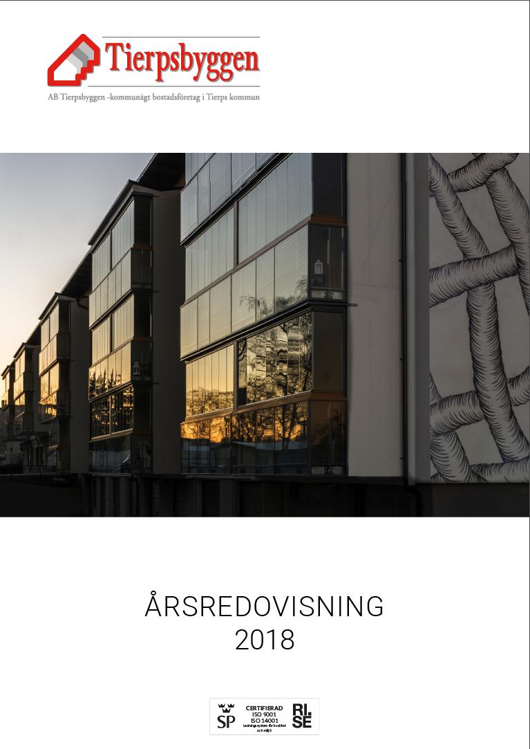 AB Tierpsbyggens årsredovisning 2018
